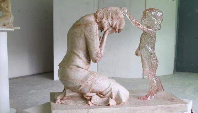 sculpture against abortion