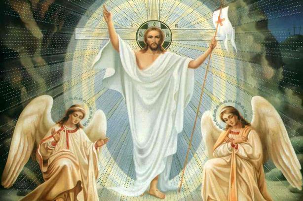 ilustración de la Resurrección de Cristo