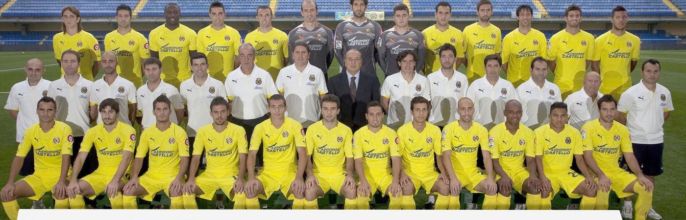 Club de fútbol Villareal, jugadores, equipo técnico y presidente