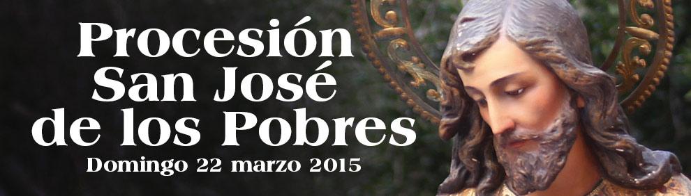 Procesión de San José de los Pobres