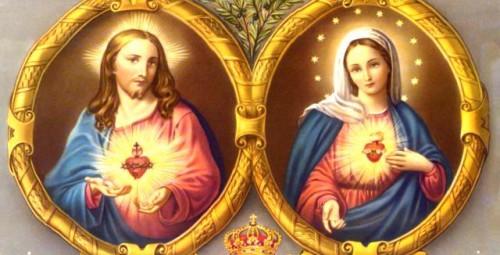 Sagrado Corazón de Jesús y de María