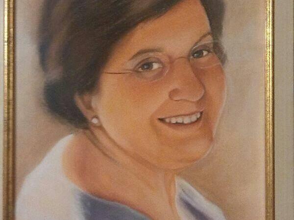 Cuadro de Angela Guillén, madre de P. Antonio Mª Domenech
