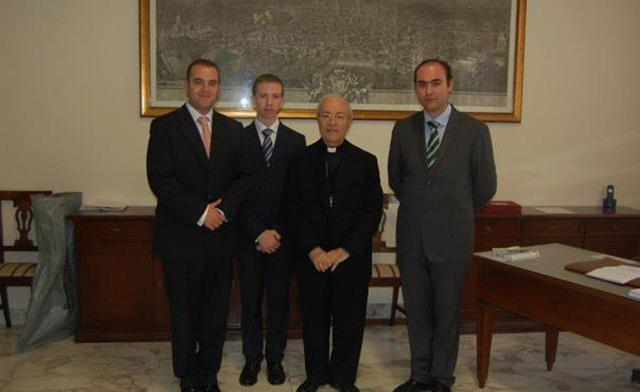 JSJ con Monseñor Monteiro de Castro